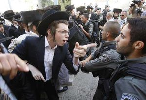 Haredi riot 3
