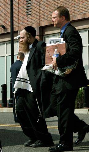 Hasidic Rabbi Arrested FBI Money Laundering 7-23-09