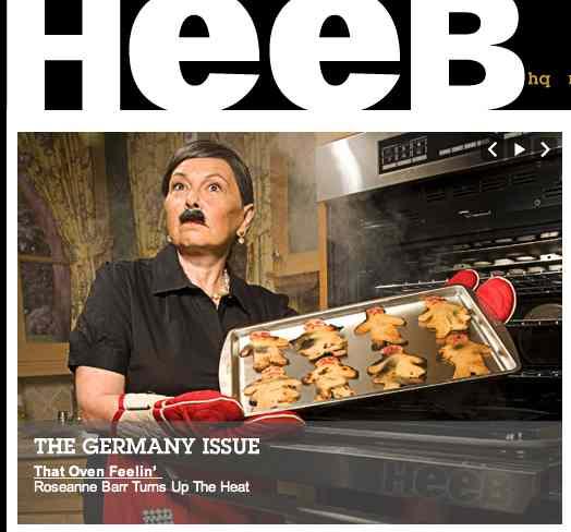 Roseanne Barr Heeb 2