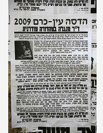 Hadassah=Mengele Pashkvil