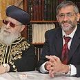 Eli Yishai and Rabbi Ovadia Yosef