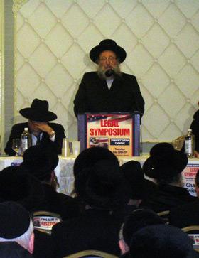 Spinka Rebbe Agudah 7-28-09 Popper.jpg