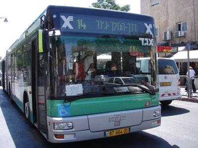 Israel Bus eged better