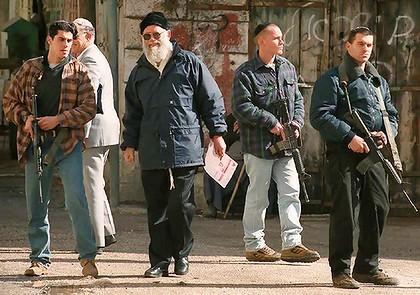 Rabbi Moshe Levinger 1996