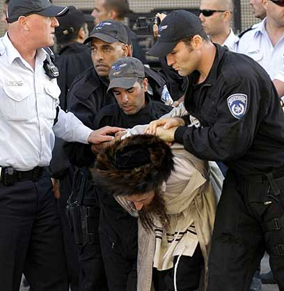 Haredi riot 8-29 1