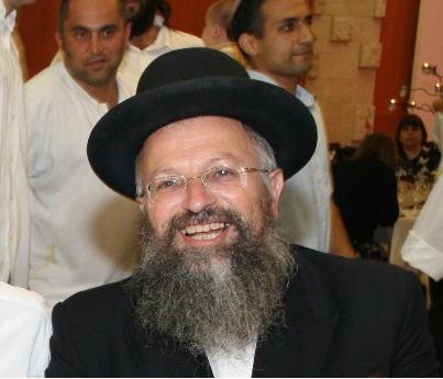 Rabbi Shmuel Eliyahu black hat
