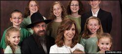 Rabbi ephraim Simon and family