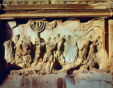Arch of Titus (menorah) 64k