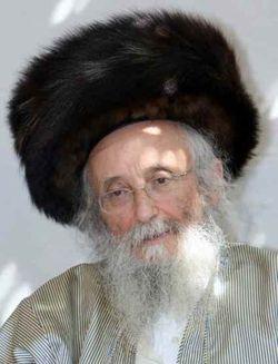 Rabbi Yitzchak Tuvia Weiss of Edah Charedis
