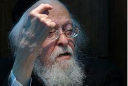 Rabbi Elyahiv finger
