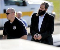 Rubashkin Arrest Normal Suit Coat Handcuffs