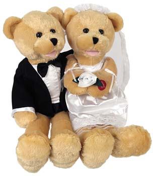 Bride Groom Teddy bears