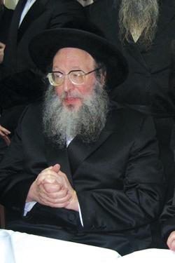 Spinka Rebbe