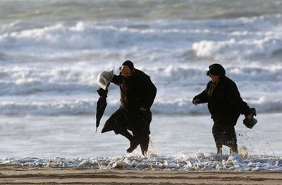 Haredim At The Beach