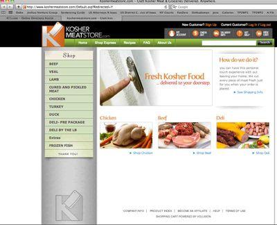 KosherMeatStore Homepage