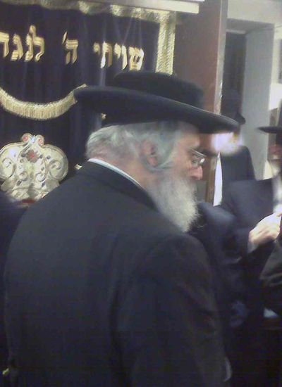 B M Lebovitz in Shomer Shabbos Shul 2a
