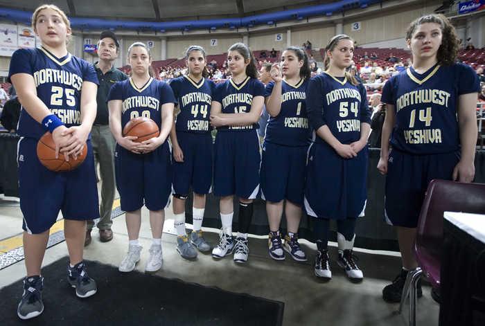Seattle Yeshiva  Girls Basketball Team