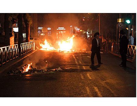 Haredi Riots Burning Jerusalem 5-16-10