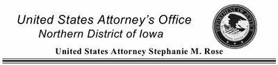 US Attorney Iowa Head