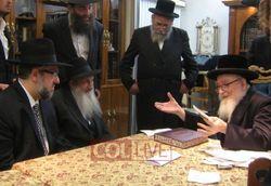 Skverer Rebbe aaron Rubashkin Pinchos Lipschutz 1