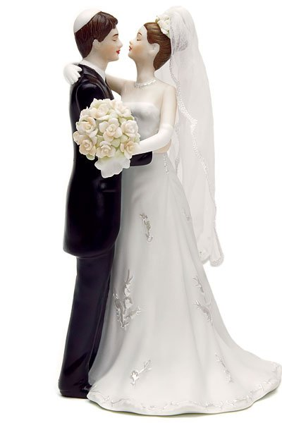 Jewish Bride & Groom Figurines