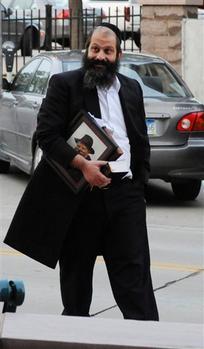 Rubashkin Walking Rebbe Picture