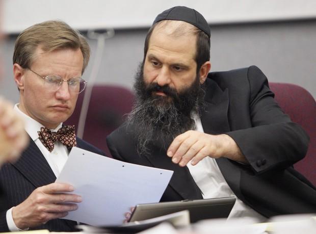 Rubashkin and Attorney Mark Weinhart