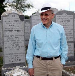 Sam Heilman Chabad Graves