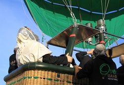 Rabbis Hot Air Baloon Prayer Rain