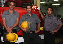 Israeli Firefighters cropped