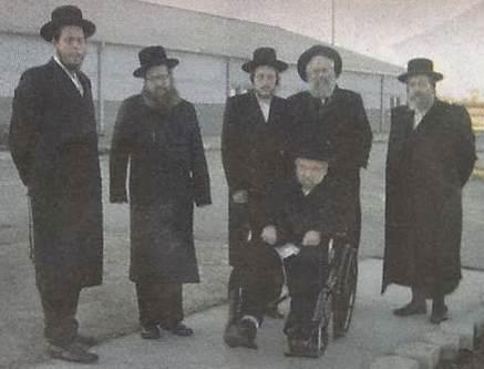 Monsey Rabbis Visit Weingarten In Prison 1-11
