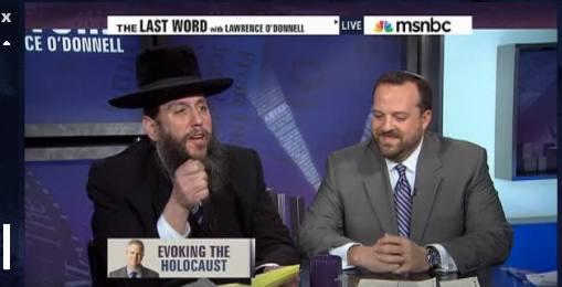 Rabbi Yehuda Levin and Rabbi David Seth Kirschner on Last Word With Lawrence O'Donnell MSNBC 1-27-11