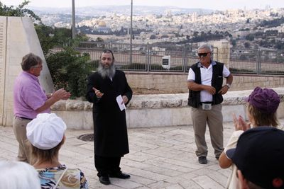 Meir Panim Mount of Olives Christian Tour group 2