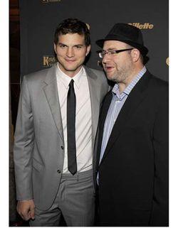 Ashton Kutcher and Rabbi Yehuda Berg