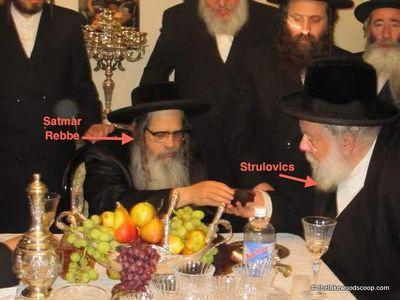 Strulovics Satmar Rebbe L'Chaim