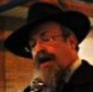 Rabbi Mendel Lew closeup