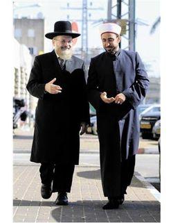 Rabbi Yosef Yashar and Sheikh Asi