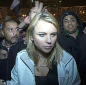 Lara Logan just before attack
