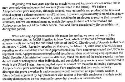 Agriprocessors Attorney Letter To Sholom Rubashkin 3-28-2008