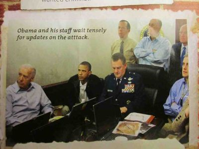 Ami Magazine crops out Hillary Clinton and Audrey Tomason from iconic White House Picture