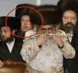 Bentzion Miller with KJ Satmar Rebbe