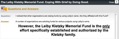 Kletzky Family Leiby Fund Website Warning About Other Funds and Sites.jp