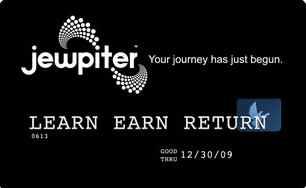 Jewpiter credit card logo