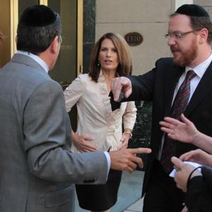 Michelle Bachmann and Agudah Rabbis, Members 8-31-11