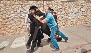 Haredim and MO Scuffle in Beit Shemesh 9-2011