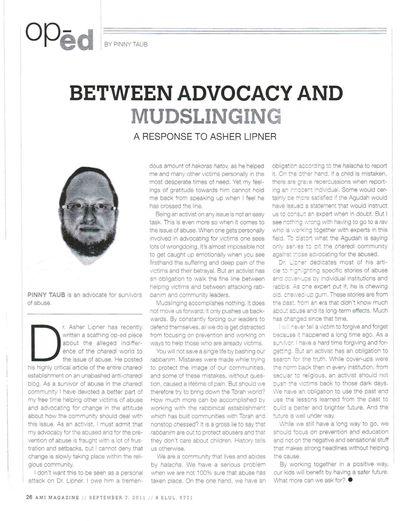 Taub Ami Magazine 9-2011
