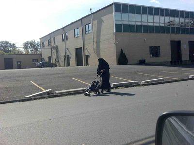 Burka Cult Taliban Jewish Woman Monsey 10-16-2011