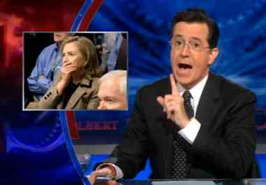 Colbert Hillary Clinton