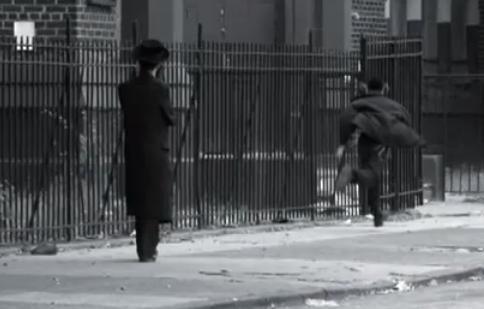 Haredi man boy runs away