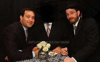 Shimmie Horn and his partner Yossi Katz